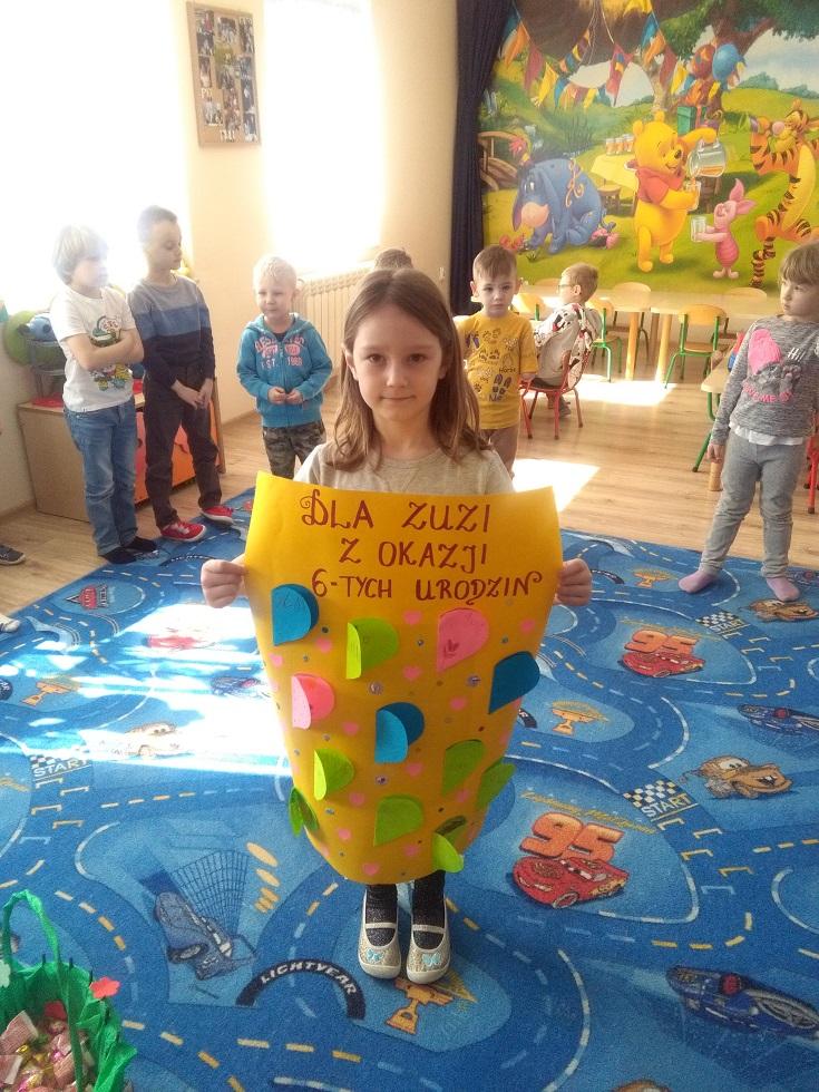 6 lat Zuzanny :)