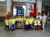 Zwiedzanie Szkoły Podstawowej nr 1 w Końskich