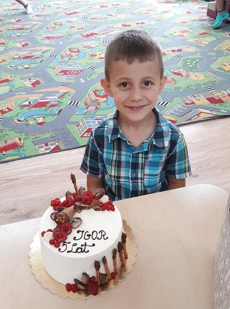 Wakacyjne 5 urodziny Igora