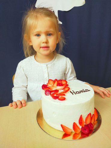 Hania kończy 3 latka