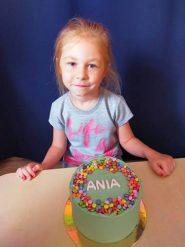 Ania kończy 6 latek