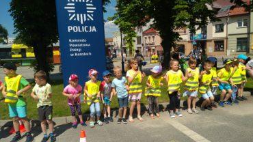 Dzień Dziecka na Komendzie Powiatowej Policji w Końskich