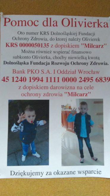 Pomoc dla Olivierka