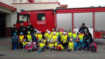 Z wizytą u strażaków…